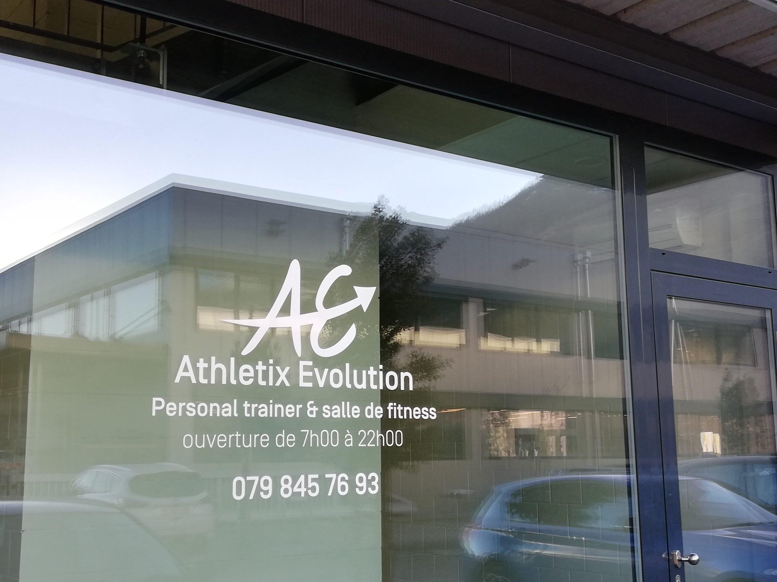 Athletix Evolution - Pubblicité Fitness Entrée - Locaux Activité et services