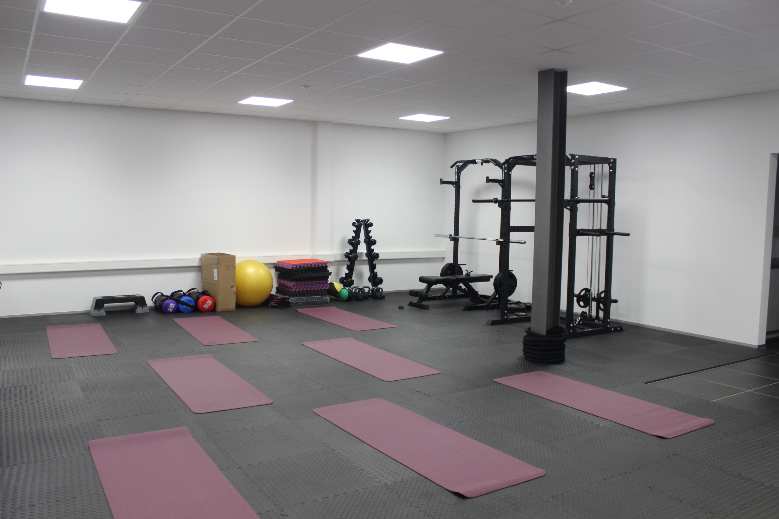 Athletix Evolution - Présentation de la salle de Fitness - Locaux